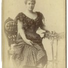 Lillian Russell Cabinet Card