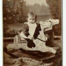 Child and Rocking Horse