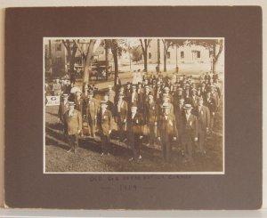 Old Civil War Co. G  Veterans on the Natick Common