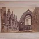 Holyrood Abbey Nave & Rochester Cathedral Albumens