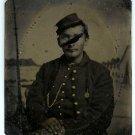 Civil War Private Tin