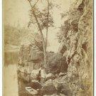 Child Fishing - Scenic Oudoor Photograph