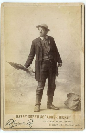 Harry Green as Abner Hicks