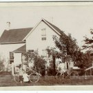 House and Bicycle Cabinet Cards