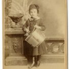Drummer Boy Cabinet Card