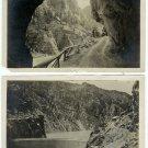 Shosone Dam and Road