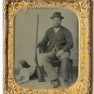 Hunter with Rifle, Pointer (Dog) Sixth Plate