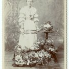 Easter Baskets Cabinet Card
