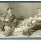 Picnickers Cabinet Card