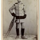 Snow Shoe and Winter Wear Cabinet Card