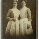 Two Nurses Cabinet Card