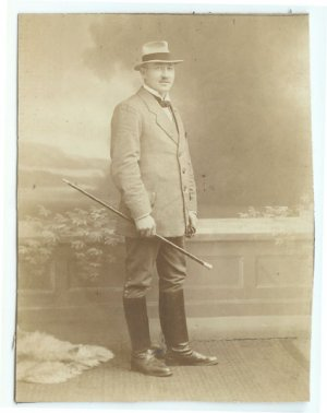 Distinguished Gent Silver Photograph