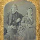 Handsome Couple Daguerreotype