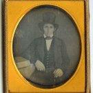 Man in a Top Hat Daguerreotype