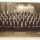 Oversize Lyra Singing Society Silver Photograph