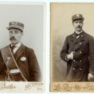 Railroad Conductors Cabinet Cards