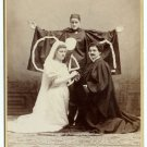 Amateur Actor Cabinet Card by Vail Brothers