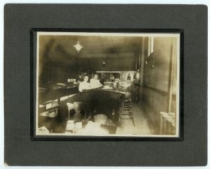 Woman's Occupational Silver Photograph