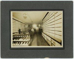 Shoe Store Interior Silver Photograph