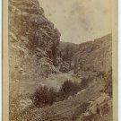 Oversize Western Scenic Cabinet Card
