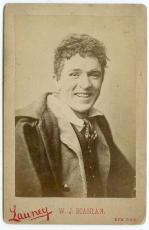 W.J. Scanlan Cabinet Card by Launcey