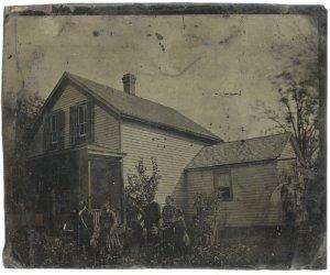 The Homestead - Full Plate Tintype