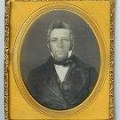 Sixth Plate Daguerreotype of a Gent