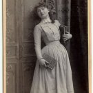 Actress Louise Dillon by Falk Cabinet Card