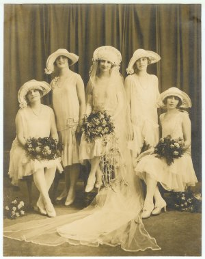 Wedding Party - Brides and Bridesmaids Photograph