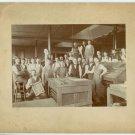 Printing Press and Printers Silver Photograph