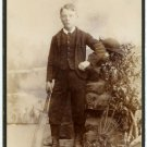 Cricket Player Cabinet Card
