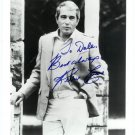 Autographed Perry Como Silver Photograph