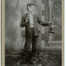 Evangeline Theatrical Cabinet Card