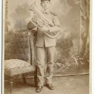 Baritone Horn Player Cabinet Card