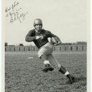 Signed Silver Photograph of a Football Player