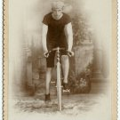 Bicycle Racer Cabinet Card