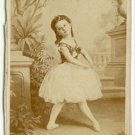 Circus Ballerina Marie Louise Browne CDV