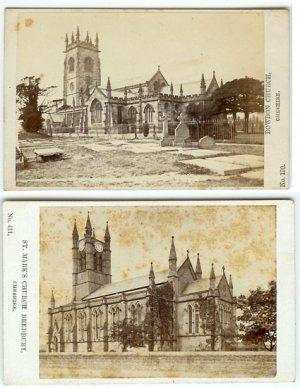 Two English Church CDVs