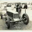 Dave Lewis, Indy 500 Racer Silver Photograph