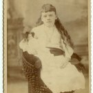 Girl with a Doll Cabinet Card