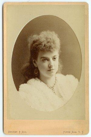 Linda Dietz Cabinet Card by Gurney