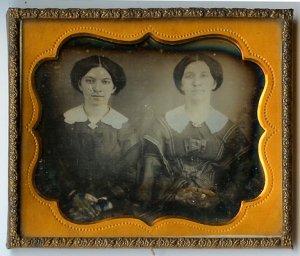 Daguerreotype of Twin Sisters!