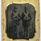 Tintype of Two Armed Militiamen