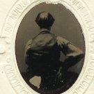 Bald Man Tintype