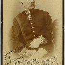 Italian Military Officer Boudoir Card