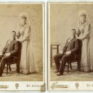Wedding Couples Cabinet Cards - Identical Images!