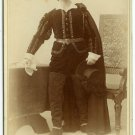 Actor Playing Hamlet Cabinet Card