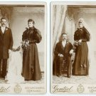 Wedding Couple - Same Couple, the Bride in Black!