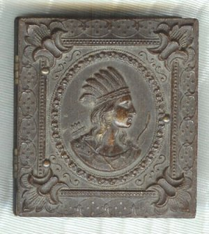 Indian Head Sixteenth Plate Thermoplastic Case