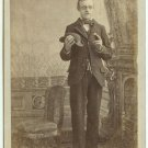 Blind Man Cabinet Card